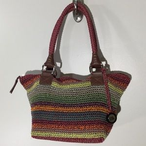 The Sak Cambria Crochet purse